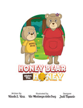 Load image into Gallery viewer, Honey Bear Hides The Honey Story + Workbook