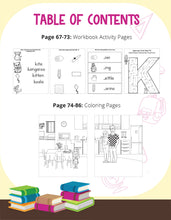 Load image into Gallery viewer, Kala's First Day Of Kindergarten Story + Workbook