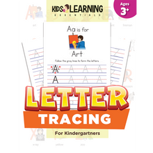 Load image into Gallery viewer, Letter Tracing For Kindergartners