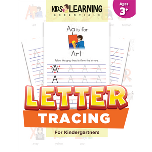 Letter Tracing For Kindergartners
