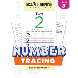 Number Tracing For Preschoolers