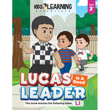 Load image into Gallery viewer, Lucas Is A Good Leader Story + Workbook