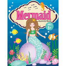 Load image into Gallery viewer, Mermaid Activity Book
