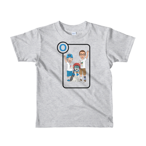 Ollie Almost Goes To Outer Space Short-Sleeve Kids T-Shirt (Design 1)