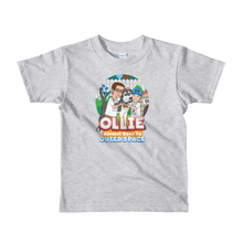 Load image into Gallery viewer, Ollie Almost Goes To Outer Space Short-Sleeve Kids T-Shirt (Design 4)