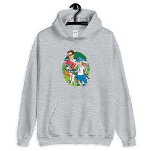 Ollie Almost Goes To Outer Space Adult Unisex Hoodie (Design 5)