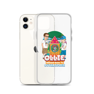 Ollie Almost Goes To Outer Space iPhone Case