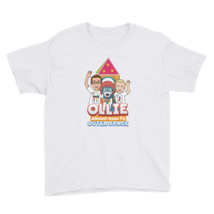 Ollie Almost Goes Into Outer Space Youth Short Sleeve T-Shirt (Design 2)