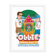 Load image into Gallery viewer, Ollie Almost Goes To Outer Space Framed Poster