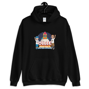 Ollie Almost Goes To Outer Space Adult Unisex Hoodie (Design 3)