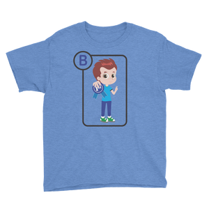 B Is For Brandon Short Sleeve Kids T-Shirt