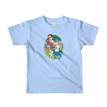 Load image into Gallery viewer, Ollie Almost Goes To Outer Space Short-Sleeve Kids T-Shirt (Design 5)