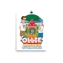 Load image into Gallery viewer, Ollie Almost Goes To Outer Space Poster