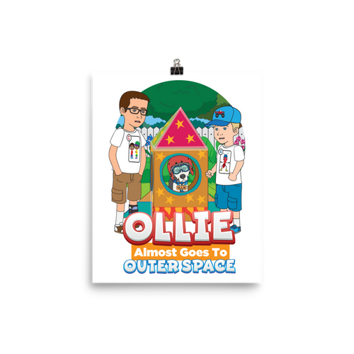 Ollie Almost Goes To Outer Space Poster