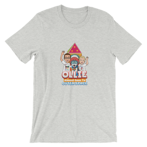 Ollie Almost Goes To Outer Space Short-Sleeve Unisex Adult T-Shirt (Design 2)