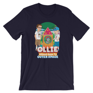 Ollie Almost Goes To Outer Space Short-Sleeve Unisex Adult T-Shirt (Design 7)