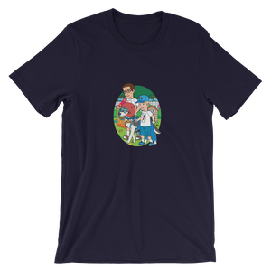 Ollie Almost Goes To Outer Space Short-Sleeve Unisex Adult T-Shirt (Design 5)