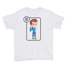 Load image into Gallery viewer, B Is For Brandon Short Sleeve Kids T-Shirt