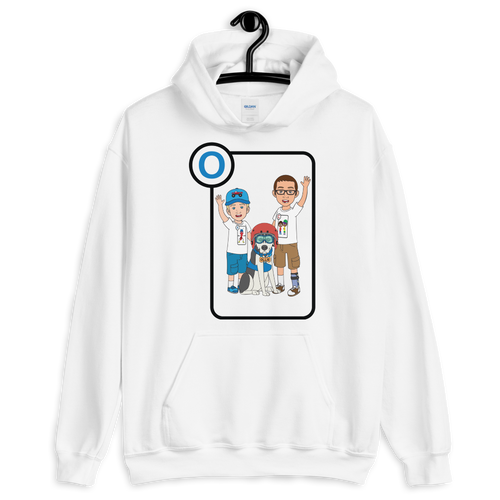 Ollie Almost Goes To Outer Space Adult Unisex Hoodie (Design 1)
