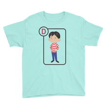 Load image into Gallery viewer, D Is For Danny Short Sleeve Kids T-Shirt