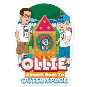 Ollie Almost Goes To Outer Space Stickers