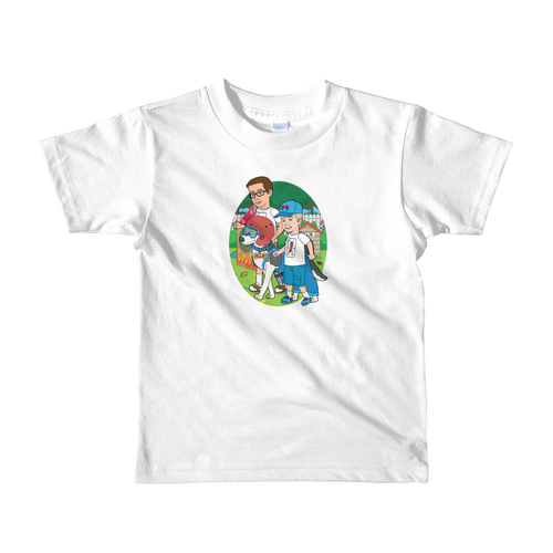 Ollie Almost Goes To Outer Space Short-Sleeve Kids T-Shirt (Design 5)