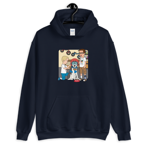 Ollie Almost Goes To Outer Space Adult Unisex Hoodie (Design 6)