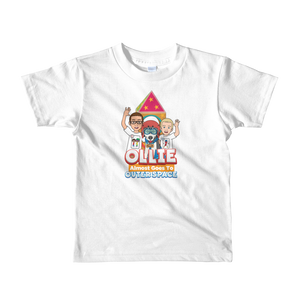 Ollie Almost Goes To Outer Space Short-Sleeve Kids T-Shirt (Design 2)