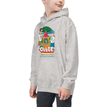 Load image into Gallery viewer, Ollie Almost Goes To Outer Space Kids Hoodie