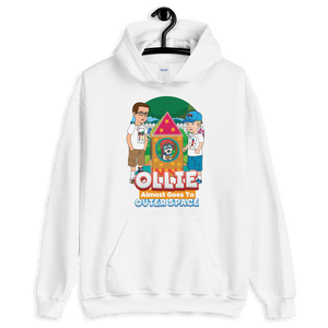 Ollie Almost Goes To Outer Space Adult Unisex Hoodie (Design 7)