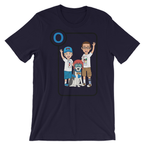 Ollie Almost Goes To Outer Space Short-Sleeve Unisex Adult T-Shirt (Design 1)
