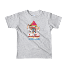 Load image into Gallery viewer, Ollie Almost Goes To Outer Space Short-Sleeve Kids T-Shirt (Design 2)