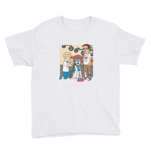 Ollie Almost Goes Into Outer Space Youth Short Sleeve T-Shirt (Design 6)