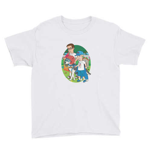 Ollie Almost Goes Into Outer Space Youth Short Sleeve T-Shirt (Design 5)