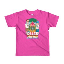 Load image into Gallery viewer, Ollie Almost Goes To Outer Space Short-Sleeve Kids T-Shirt (Design 7)