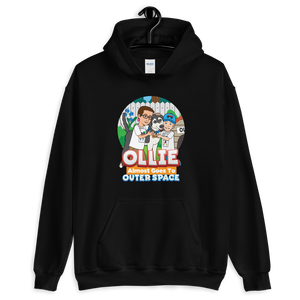 Ollie Almost Goes To Outer Space Adult Unisex Hoodie (Design 4)