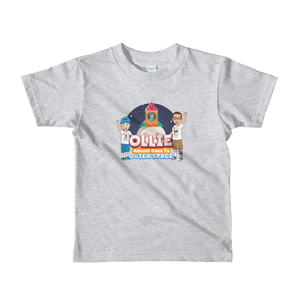 Ollie Almost Goes To Outer Space Short-Sleeve Kids T-Shirt (Design 3)
