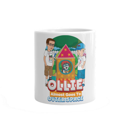 Ollie Almost Goes To Outer Space Mug