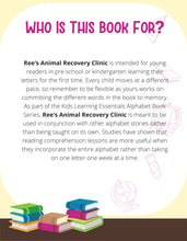 Load image into Gallery viewer, Ree's Animal Recovery Clinic Story + Workbook