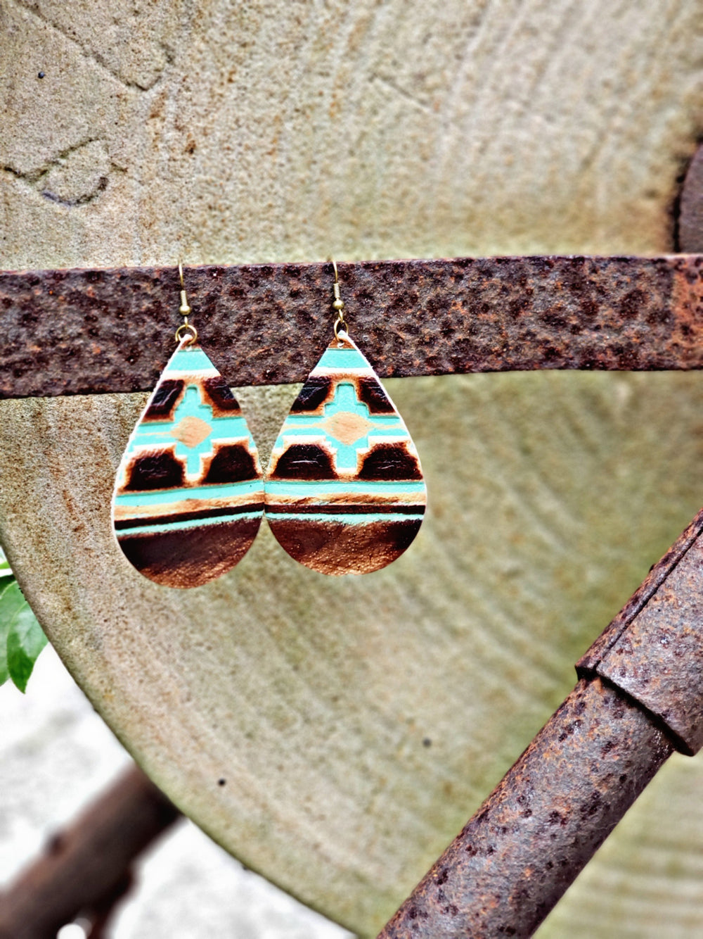 Navajo Earrings (RTS)