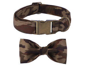 Unique Style Paws Collar Camouflage
