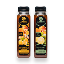 Load image into Gallery viewer, Bundle of Honey Lemon Ginger + Honey Calamansi Concentrate