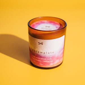 Contemplate: Classic Cinnamon Soy Candle