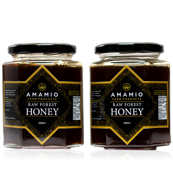 Premium Raw Forest Honey