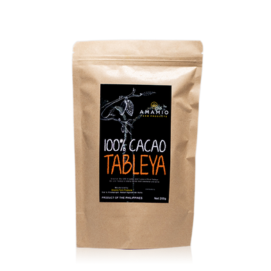 100% Cacao Tableya (200g) - Nature's Apothecary