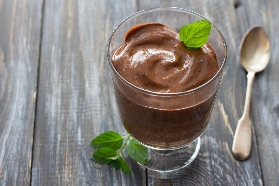 TMJ Diet: 2-Minute Chocolate Banana Pudding