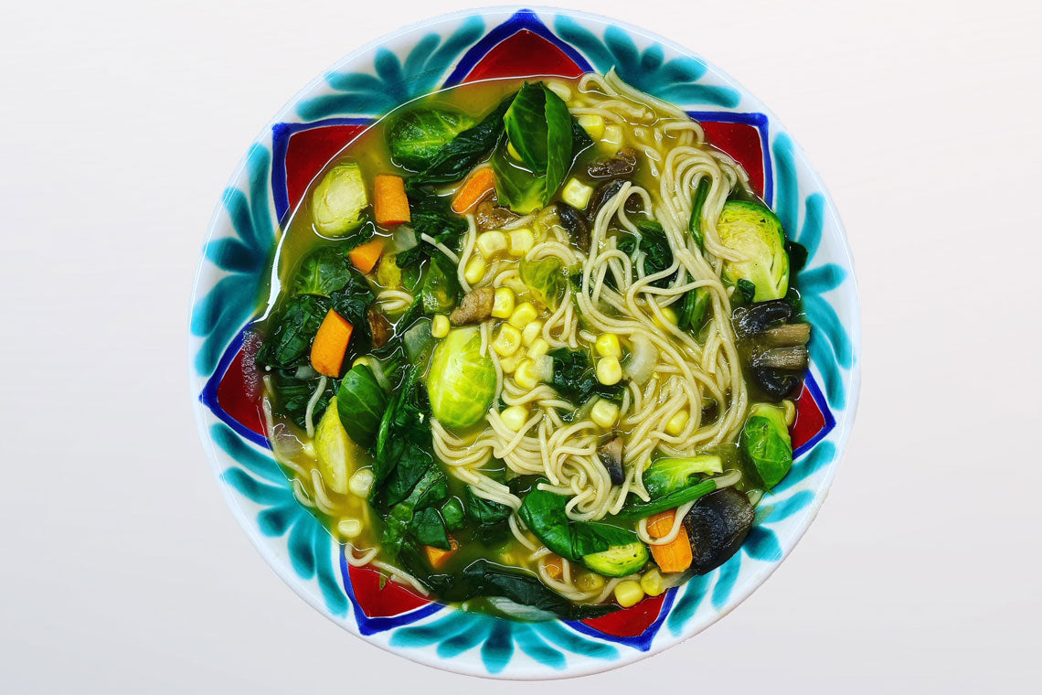 TMJ Recipe: Vegetable Ramen Soup