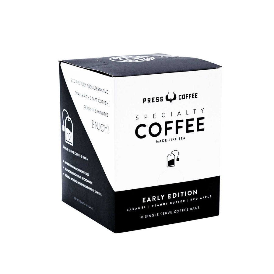 Early Edition Single Serve Coffee Bags