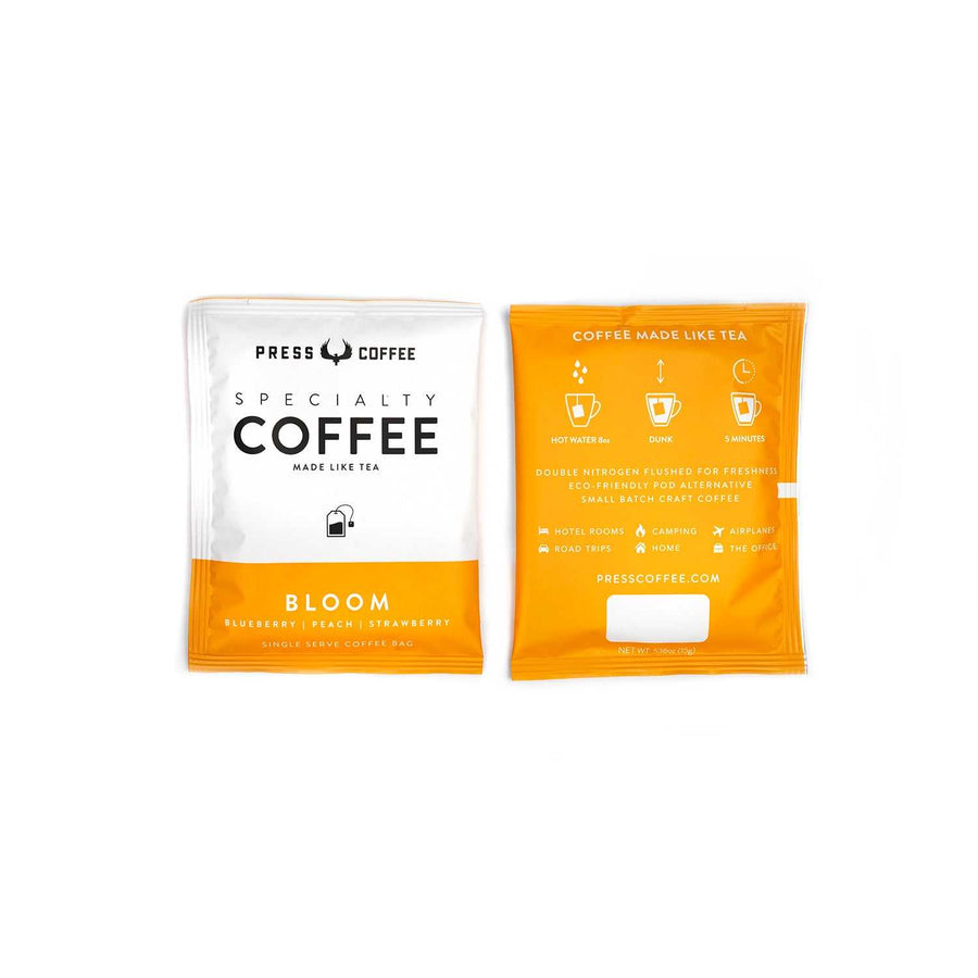 Bloom Single Serve Coffee Bags