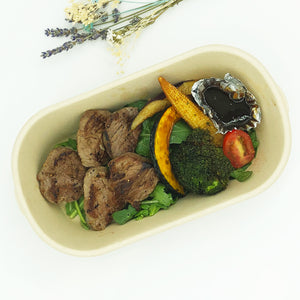 煎牛柳 Sliced Beef Steak